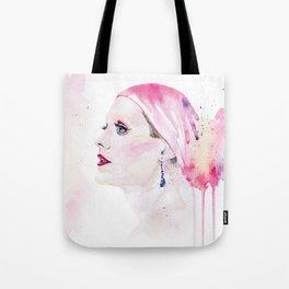 Rayon | Jared Leto in Dallas Buyers Club | Watercolor Portrait Tote Bag