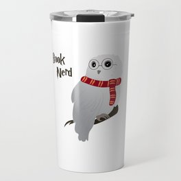 Book Nerd Hedwig Travel Mug
