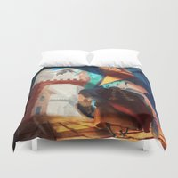 dragons Duvet Covers featuring Dragons by youcoucou