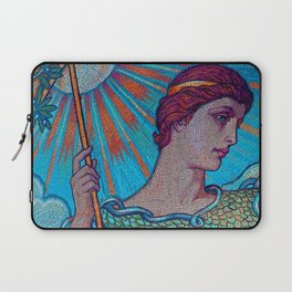 Minerva Goddess Of Wisdom Laptop Sleeve