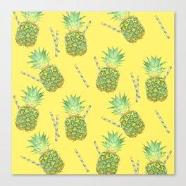 pineapple juice Canvas Print