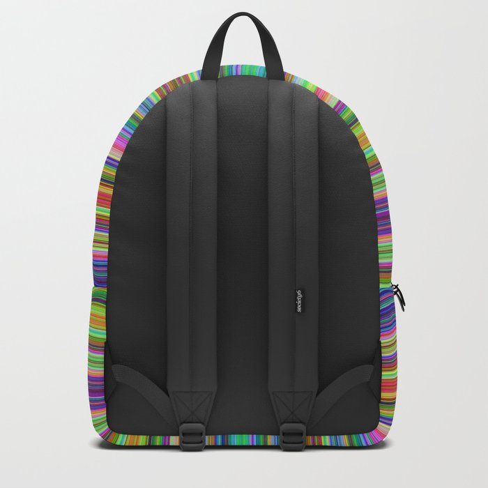 Summer Stripes – Clock 2 - Living Hell Backpack