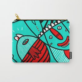 random thoughts before meditation Carry-All Pouch