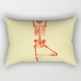Skeleton Vriksasana Rectangular Pillow