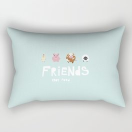friends not food Rectangular Pillow