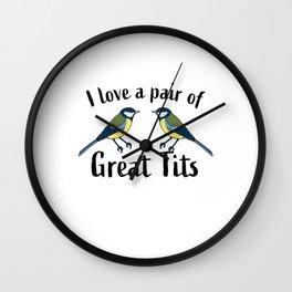 Funny Birdwatching Bird watcher Gift Wall Clock