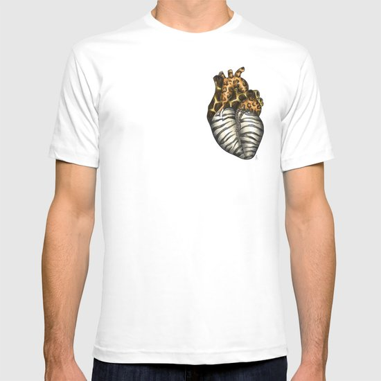 Heart gone wild - color  T-shirt