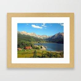 American Swiss Framed Art Print