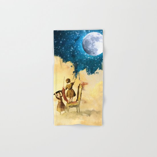 Painting Stars Hand & Bath Towel