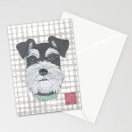 Schnauzer, DOG Stationery Cards