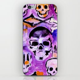 Skull and Cross Bones iPhone Skin
