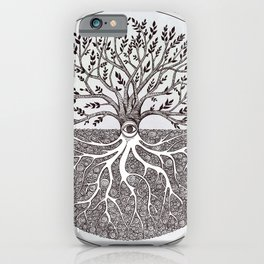 Tree of Life as above so below iPhone Case