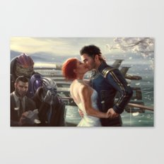 Mass Effect - Wedding Canvas Print