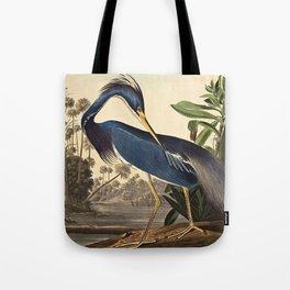 John James Audubon - Louisiana Heron Tote Bag