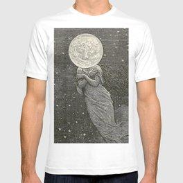 AROUND THE MOON - EMILE-ANTOINE BAYARD T-Shirt