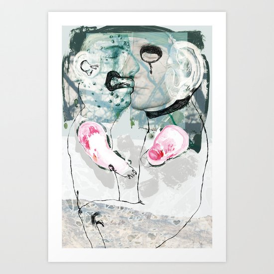 vitriol 6 Art Print