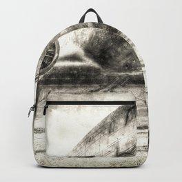 Vintage Aviation Backpack