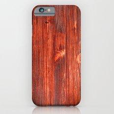 Cherry Wood Texture Slim Case iPhone 6s