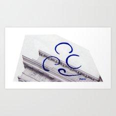 Cornice Art Print