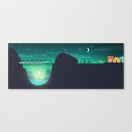 Nightcall Illustration Canvas Print
