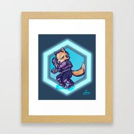 You're gonna get Fox'd! Framed Art Print