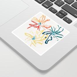 Gestural Blooms Sticker