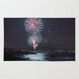 Rockport Firework at Old Garden Beach Rug