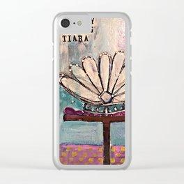 Monday Tiara Clear iPhone Case