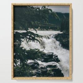 Athabasca Falls Serving Tray