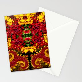 Dragon Flower Stationery Cards