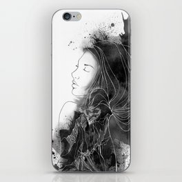 Sacred Datura of Zion iPhone Skin