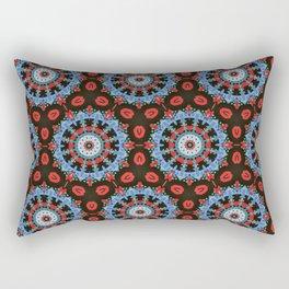 folk flower meadow Rectangular Pillow