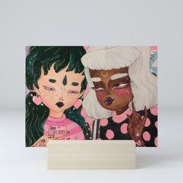 PARTNERS IN CRIME Mini Art Print