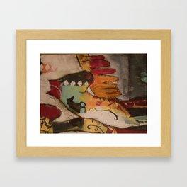 Spirit Horses Close up Framed Art Print