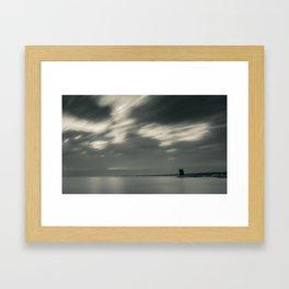 Lisbon in Black and White Framed Art Print