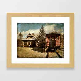 Accord Train Station Framed Art Print