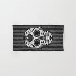 Día de los Muertos - Grey Hand & Bath Towel