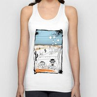 fear and loathing Tank Tops featuring Fear and Loathing in Albuquerque II by Evan