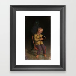 Horor Fiction Framed Art Print