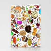 dessert Stationery Cards featuring Dessert! by nerdwaffles