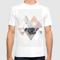 Graphic 110 Mens Fitted Tee MEDIUM White