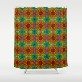 Tryptile 34d (Repeating 2) Shower Curtain