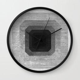 metal polygon Wall Clock