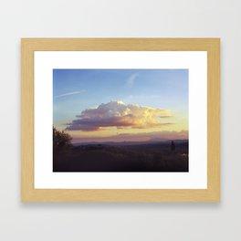 Tuscan Cloud Framed Art Print
