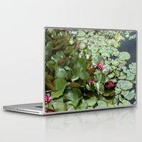lotus flower Laptop & iPad Skins featuring Lotus by Melissa Schantz Photography