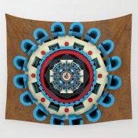 sacred geometry Wall Tapestries featuring Sacred Geometry by Angel Decuir
