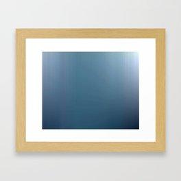 Rains Came Framed Art Print