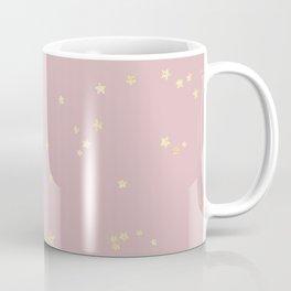 Pretty Pink & Gold Stars Coffee Mug