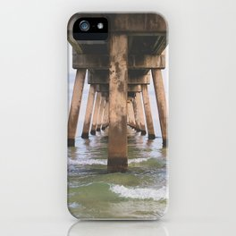 Under the Pier at Okaloosa Island iPhone Case