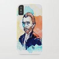 van gogh iPhone & iPod Cases featuring Van Gogh by Jon Cain